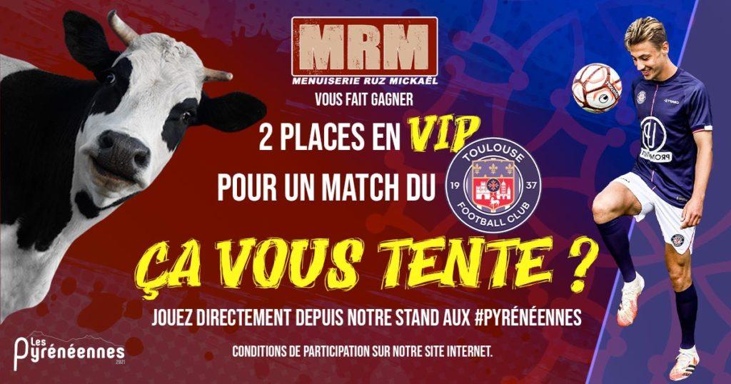MRM vous fait gagner deux places en VIP pour voir un match du TFC !